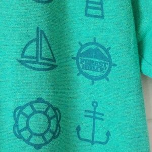 Pacific Shirts - Anchors and Waves Nautical Tee Christian Camp